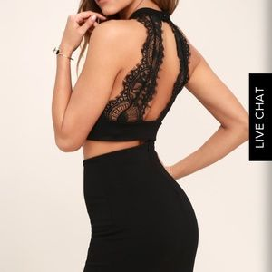 Two piece lace detail top. Never worn!